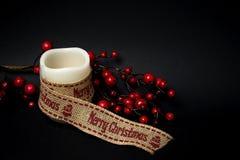 Ornements de Noël billes Jouets Le père noël ; Bougies ; Cadeaux ; Photos libres de droits