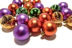 ornements de Noël de bille Photos libres de droits