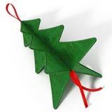 Ornements de Noël de pin illustration 3D Images libres de droits