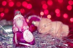 Ornements de Noël de vintage photographie stock