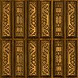 Ornements en bois illustration stock