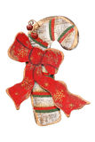 Ornements en bois de Noël, rétro Photo stock