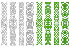 Ornements et éléments celtiques Photographie stock libre de droits