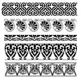Ornements floraux abstraits Images libres de droits