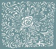 Ornements floraux de décoration Photos libres de droits