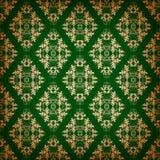 Ornements floraux sur un fond foncé Image libre de droits