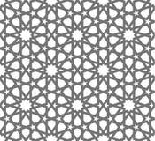 Ornements géométriques de vecteur islamique, art arabe traditionnel Configuration sans joint orientale Tuile turque, Arabe, maroc Photographie stock libre de droits