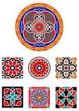 Ornements islamiques de vecteur Photo stock