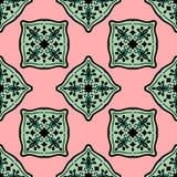 Ornements marocains colorés de tuiles Image libre de droits