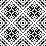 Ornements marocains de tuiles Photographie stock