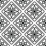 Ornements marocains de tuiles Image libre de droits