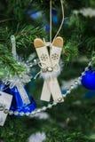 Ornements pour Noël Photos stock