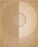 Ornements ronds de dentelle Image libre de droits
