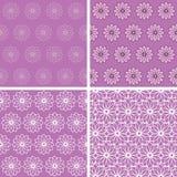 Ornements sans couture floraux abstraits Image stock