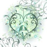 Ornete heart Royalty Free Stock Photography