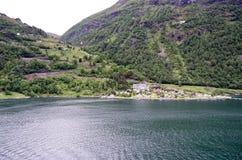 Ornevegen - δρόμος αετών Στοκ Εικόνες