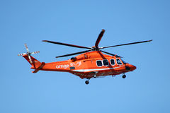 ORNGE ambulance helicopter Stock Photography