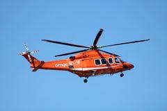 ORNGE ziekenwagenhelikopter stock fotografie