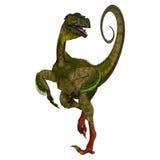 Ornitholestes op Wit royalty-vrije illustratie