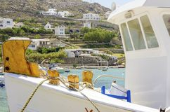 Ornos beach, Mykonos, Greece Stock Image
