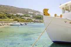 Ornos beach, Mykonos, Greece Royalty Free Stock Image