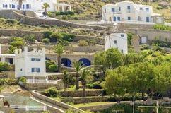 Ornos, Mykonos, Grecia Fotografie Stock Libere da Diritti