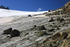 Orny glacier, Pennine Alps, Switzerland Royalty Free Stock Photography