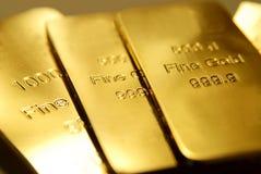Oro Imagenes de archivo