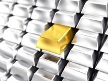 Oro illustrazione di stock