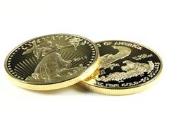 Oro americano Eagle Fotografia Stock