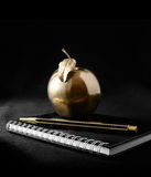 Oro Apple Immagini Stock