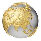 Oro Asia Imagen de archivo