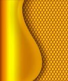 Oro astratto del fondo di affari Fotografia Stock Libera da Diritti
