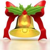 Oro Bell ed agrifoglio fotografia stock