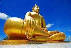 Oro Buddha Imagen de archivo