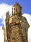 Oro Buddha Imagenes de archivo