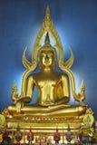 Oro buddha Imágenes de archivo libres de regalías