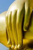 Oro Buddha Fotografía de archivo