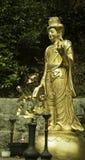 Oro Buddha Fotografie Stock