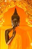 Oro Buddha Foto de archivo libre de regalías