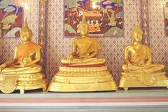 Oro Buddha Immagine Stock