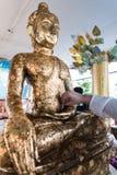 Oro Buddha Fotografía de archivo libre de regalías