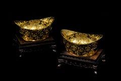 Oro chino Imagenes de archivo