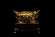 Oro chino Fotos de archivo libres de regalías
