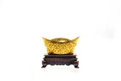 Oro chino Imágenes de archivo libres de regalías
