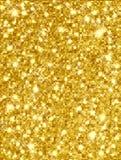 Oro chispeante Fotos de archivo