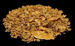Oro de Alaska imagen de archivo