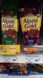 Oro de Alpen Fotografía de archivo