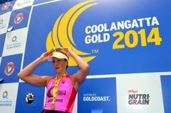 Oro 2014 de Coolangatta Imagen de archivo libre de regalías