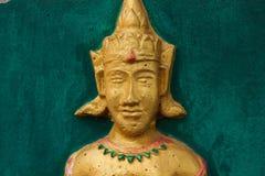 Oro de la deidad Fotografía de archivo libre de regalías